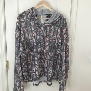 FP Movement Free People Layering Mesh Jacket Sz L